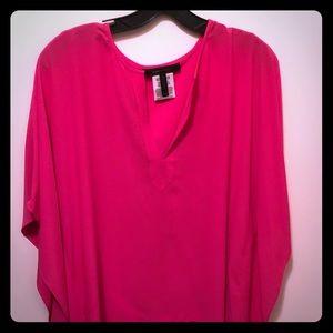 Hot pink Tunic